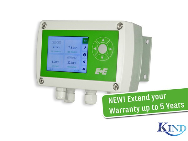 EE310 湿度/温度 带显示变送器