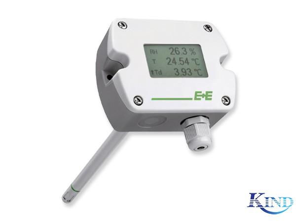 EE210 带显示的管道安装式温湿度变送器