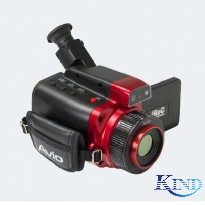 NEC AVIO R550-Pro 钢板高温测试案例