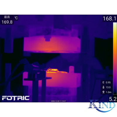 压铸行业应用红外热像仪温度控制及产品检测视频案例