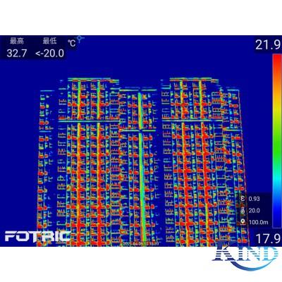 红外热像仪在建筑检测行业的应用