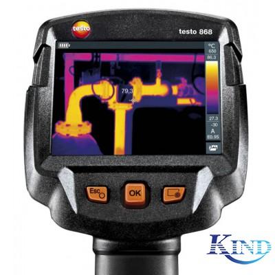 testo 868 - 入门级智能无线热像仪(160x120像素,App)